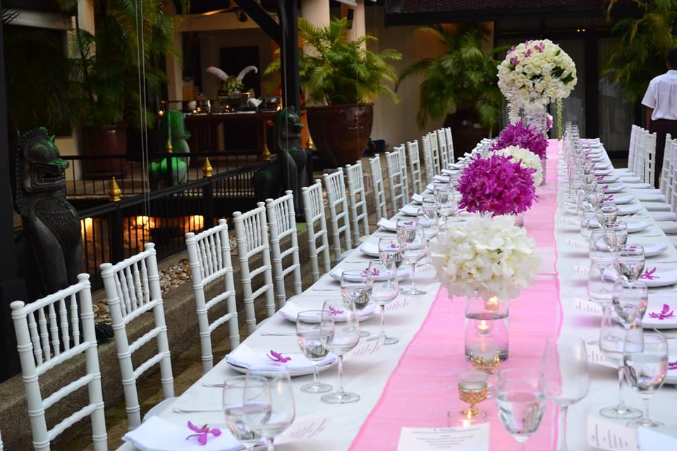 11 Wedding table setup 2 & 11 Wedding table setup 2 u2013 Phuket Paradise Villas