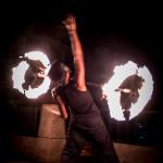 fire acrobatics