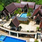 twin pools villa