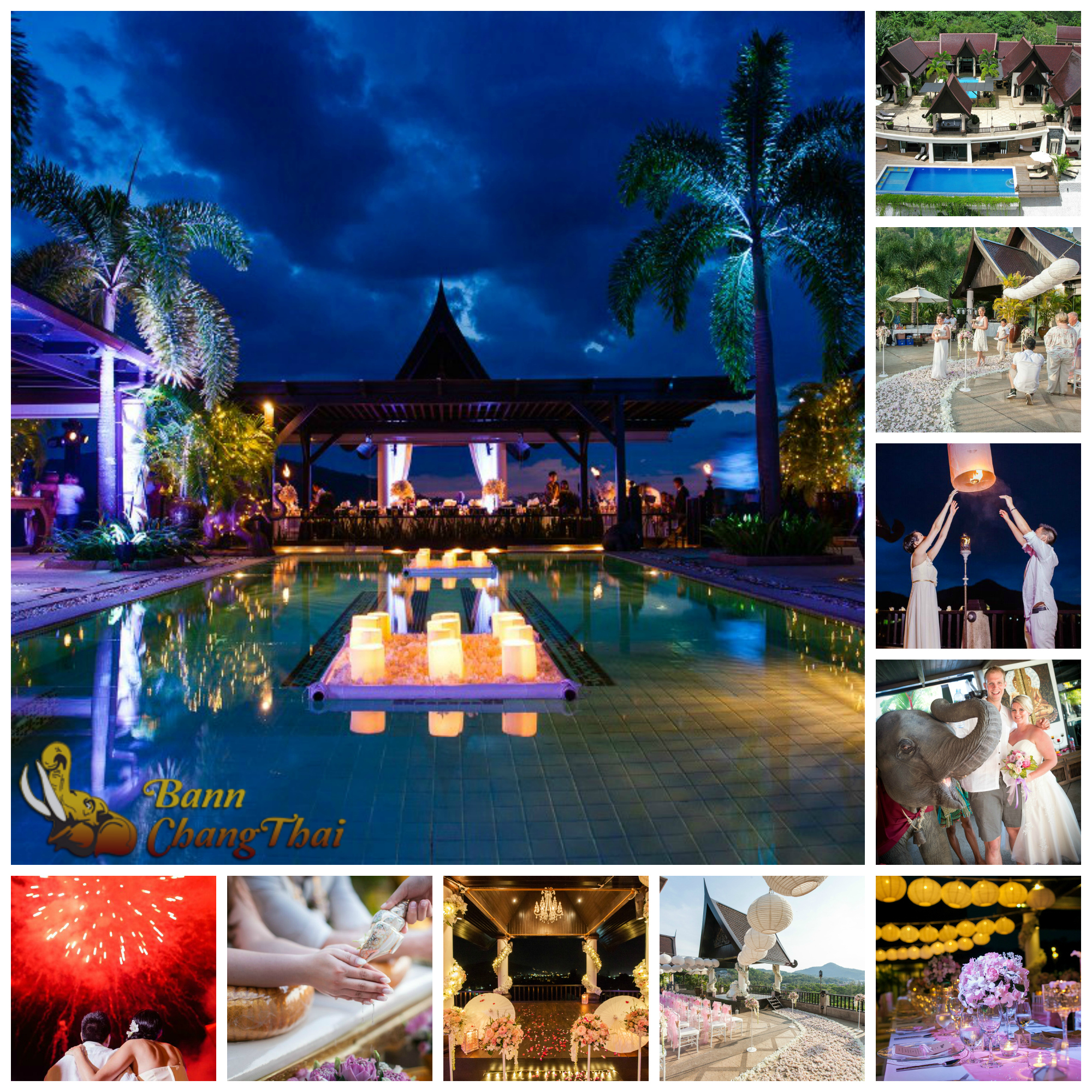 destination weddings Thailand tropical paradise villas