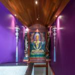 Purple Buddha Painting
