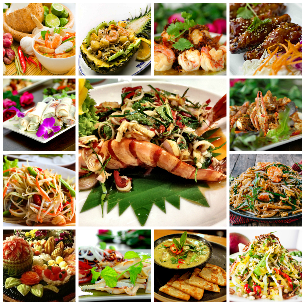thai cuisine phuket thailand food
