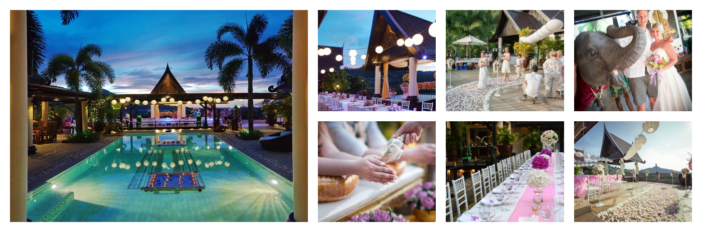 large wedding villa phuket 7-9 bedrooms villas